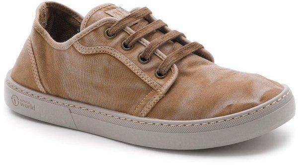 Basket Enzimatico - Schnürschuhe aus Bio-Baumwolle - beige