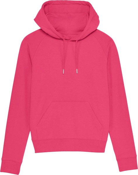 Raglan-Hoodie aus Bio-Baumwolle - pink punch