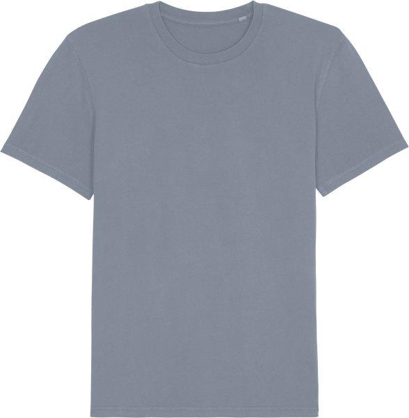 Vintage T-Shirt aus Bio-Baumwolle - g. dyed lava grey