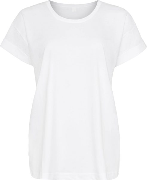 Organic Boyfriend T-Shirt - white