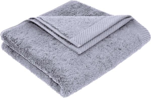 Flauschiges Handtuch aus Bio-Baumwolle - 50x100 lilac grey