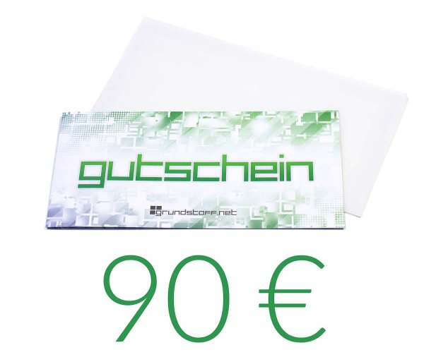 90,- EUR Geschenkgutschein - neutrales Design - Bild 1