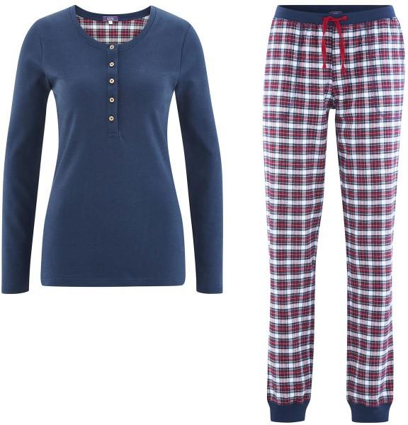 purchase cheap 952ef 845e8 Flanell-Schlafanzug aus Bio-Baumwolle – tartan