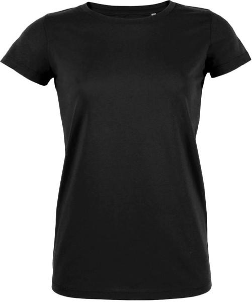 Likes - Jersey-Kurzarmshirt aus Bio-Baumwolle - schwarz - Bild 1