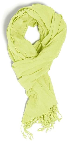 Wrap - Schal aus Bio-Baumwolle - sunny lime - Bild 1
