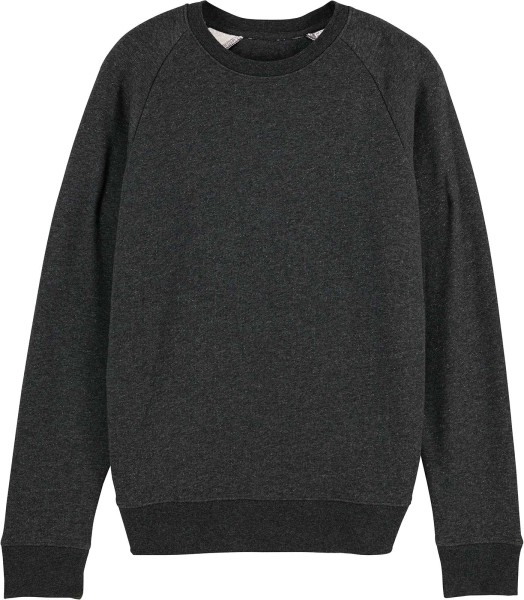Sweatshirt aus Bio-Baumwolle - dark heather grey