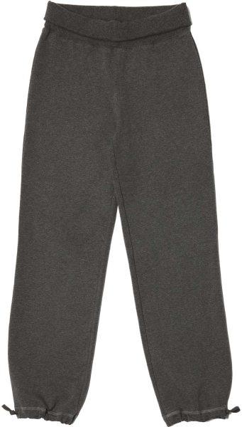 Wellness-Hose aus Bio-Baumwolle - anthracite melange