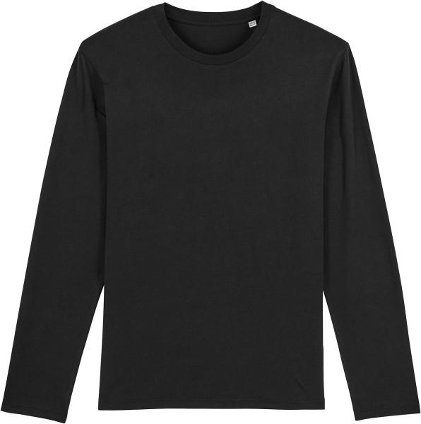 Longsleeve aus Bio-Baumwolle - black