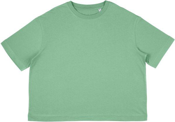 Organic Heavy Oversized T-Shirt - sage green