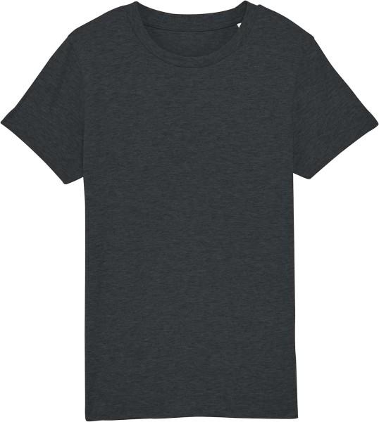 Kinder T-Shirt aus Bio-Baumwolle - dark heather grey