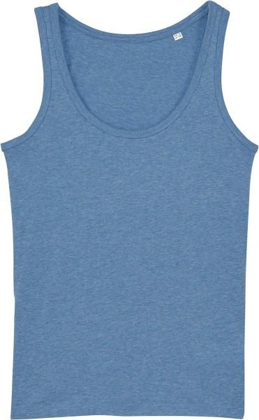 Tank-Top aus Bio-Baumwolle - mid heather blue