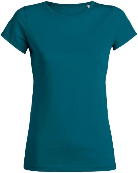 Wants - T-Shirt aus Bio-Baumwolle - petrol - Bild 1