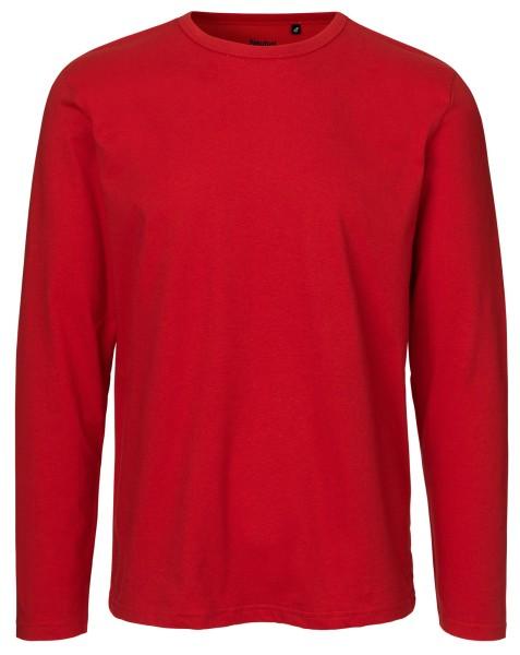 Neutral - Herren Longsleeve Shirt - rot
