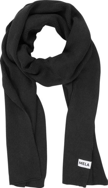 Strickschal aus Bio-Baumwolle - black