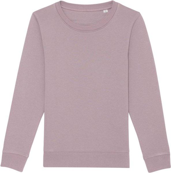 Kinder Sweatshirt aus Bio-Baumwolle - lilac petal