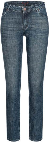 Svenja - 5 Pocket Jeans aus Bio-Baumwolle - dirty blue