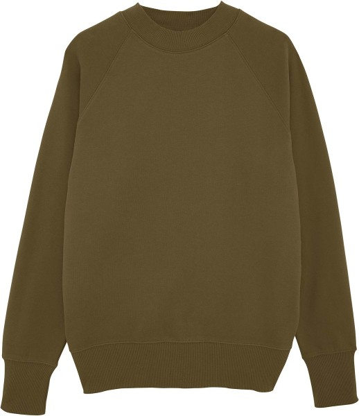 Sweatshirt khaki Bio-Baumwolle fair-wear