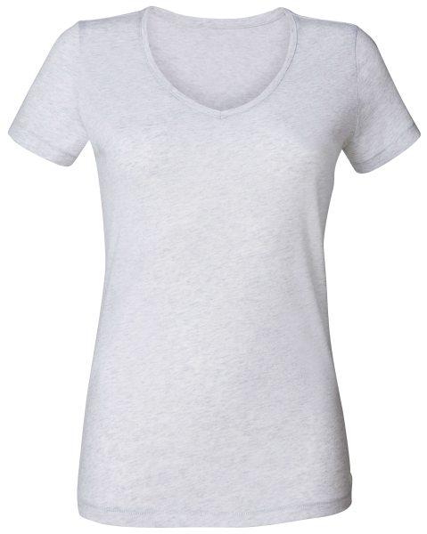Damen T-Shirt V-Ausschnitt Bio-Baumwolle gots Chooses