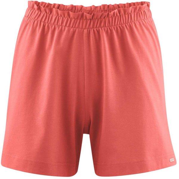 Schlaf-Shorts aus Bio-Baumwolle - blush
