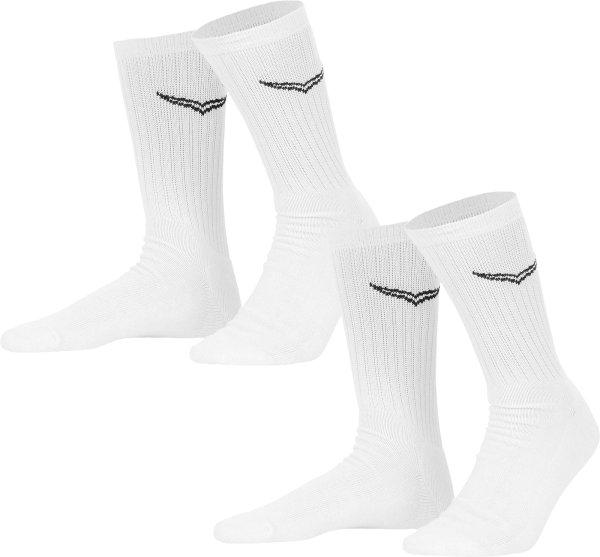 Socken - Doppelpack - weiss