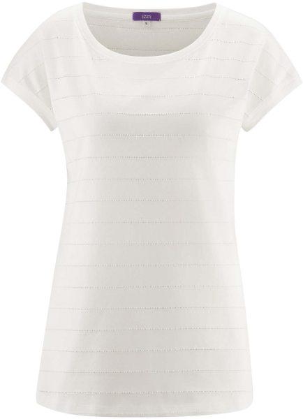 Schlaf-Shirt aus Bio-Baumwolle - offwhite