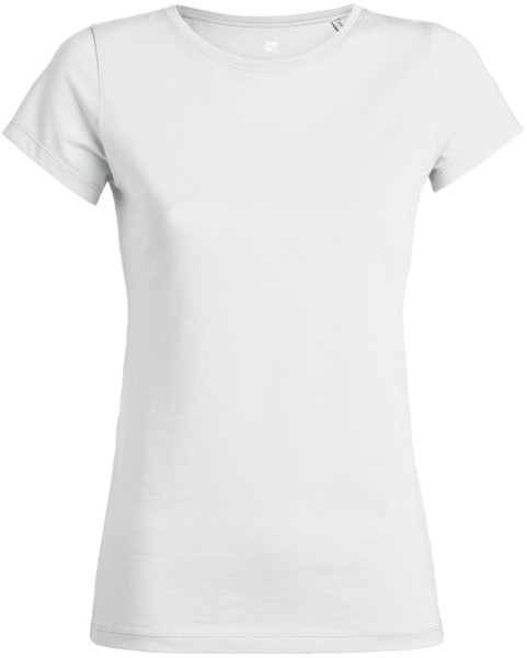 T-Shirt aus Bio-Baumwolle - weiss