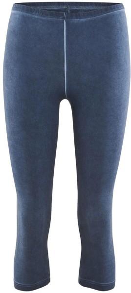 3/4 Leggings aus Bio-Baumwolle – indigo blue