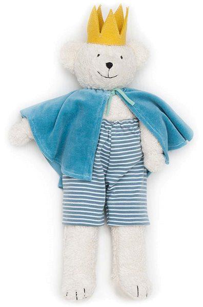 Großer Bärenprinz Ben - Kuscheltier aus Bio-Baumwolle - Bild 1