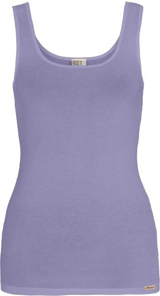 Unterhemd aus Fairtrade Biobaumwolle - sweet lavender