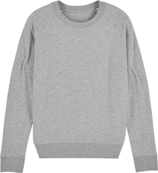 Sweatshirt aus Bio-Baumwolle - heather grey