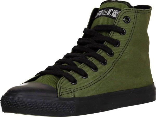 Knöchelhoher Classic Sneaker aus Biobaumwoll-Canvasstoff