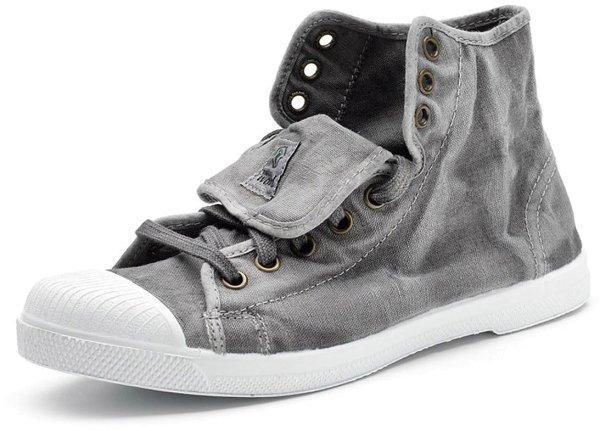 Bota Sport Enzimatico - Hohe Sneakers aus Bio-Baumwolle - gris - Bild 1