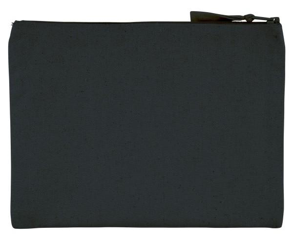 Pencil Case aus recycelter Baumwolle - schwarz