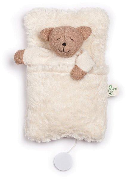 Bären-Spieluhr mit Schlafsack - Bio-Baumwolle - Bild 1