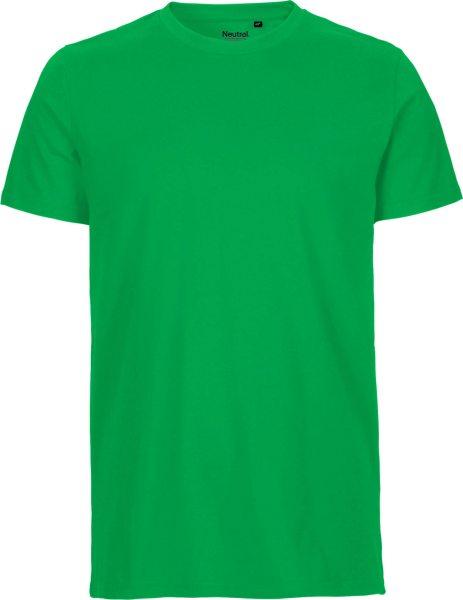 Fitted T-Shirt aus Fairtrade Bio-Baumwolle - grün