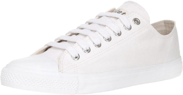 Fair Trainer White Cap Lo Cut - Just White/Just White
