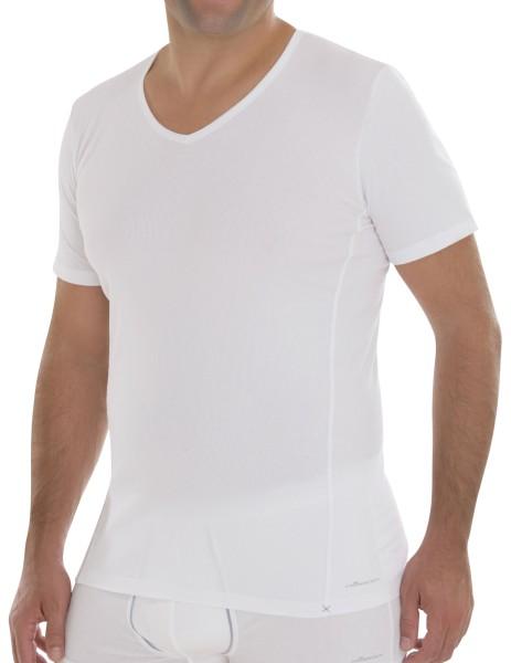 V-Neck T-Shirt weiss Comazo 2-30-2072