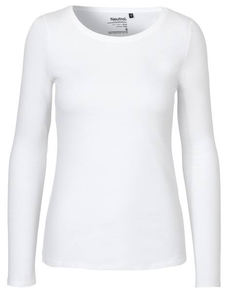 Neutral - Damen Longsleeve - weiss
