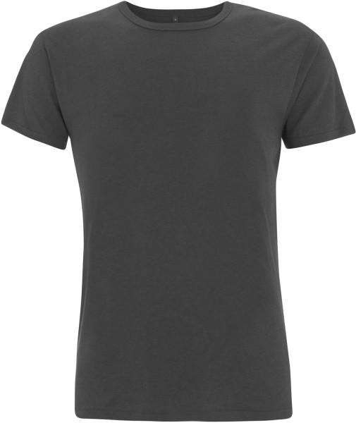 Bamboo Jersey T-Shirt charcoal - Herren T-Shirt aus Bambus-Viskose