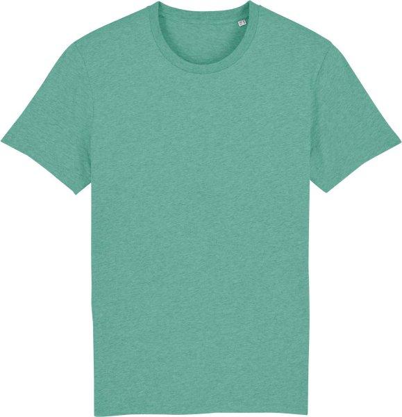 T-Shirt aus Bio-Baumwolle - mid heather green