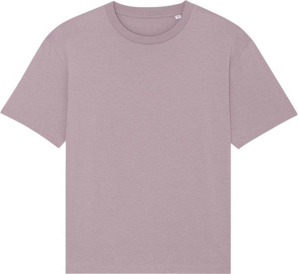 Oversized T-Shirt aus Bio-Baumwolle - lilac petal
