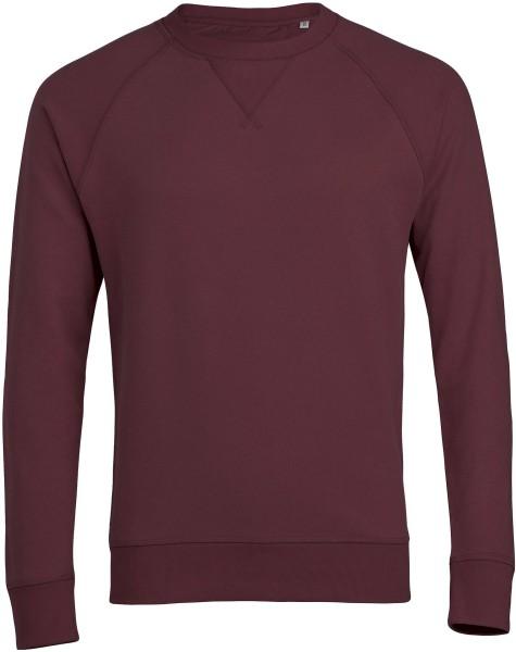 Strolls - Sweatshirt aus Bio-Baumwolle - burgundy