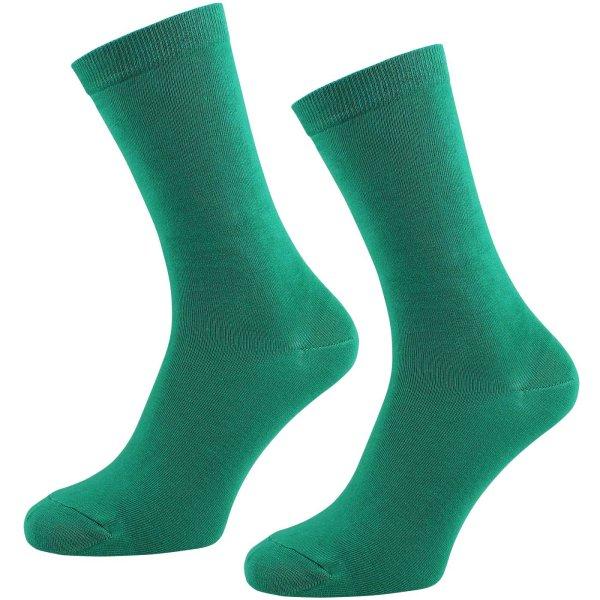Socken aus Bio-Baumwolle - 2er Pack - grün