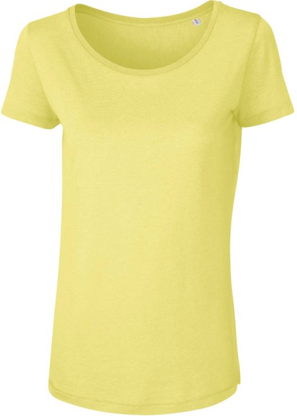 Loves Modal - T-Shirt aus Modalfasern - iris yellow
