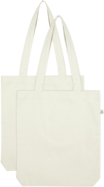 Shopper Bag SA60 natural Doppelpack