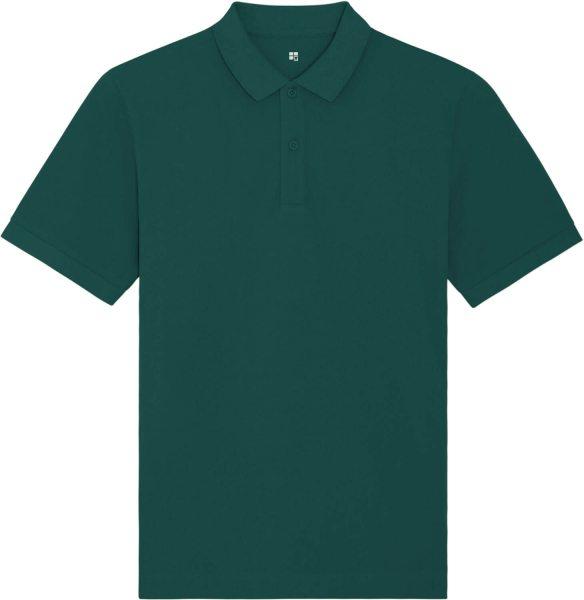 Piqué-Poloshirt aus Bio-Baumwolle - glazed green