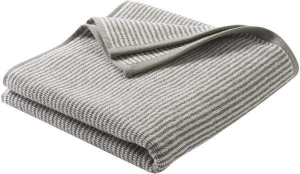 Handtuch aus Bio-Baumwolle 100x50 cm kaschmir/natur