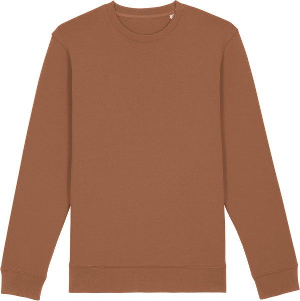 Unisex Sweatshirt aus Bio-Baumwolle - caramel