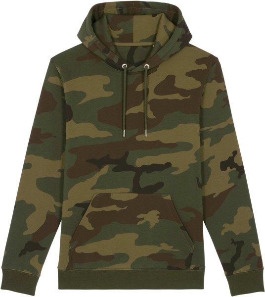 Unisex Hoodie aus Bio-Baumwolle - camouflage