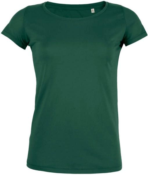 Loves - Jerseyshirt aus Bio-Baumwolle - bottle green - Bild 1